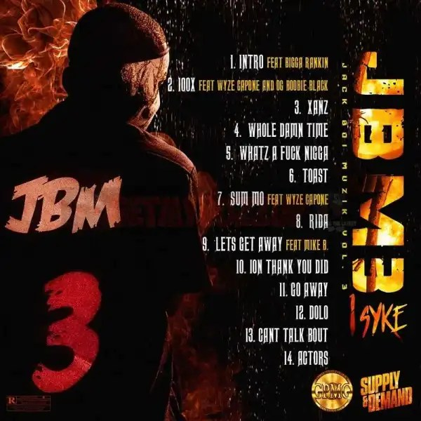 New Project: 1Syke - Jack Boi Muzik 3 [Audio]