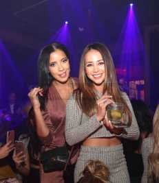 LOS ANGELES, CA - FEBRUARY 16: Julissa Bermudez and Danielle Lombard attend MVP Weekend with Travis Scott at Avenue Los Angeles presented by Remy Martin on February 16, 2018 in Los Angeles, California. (Photo by Jerritt Clark/Getty Images for Remy Martin)