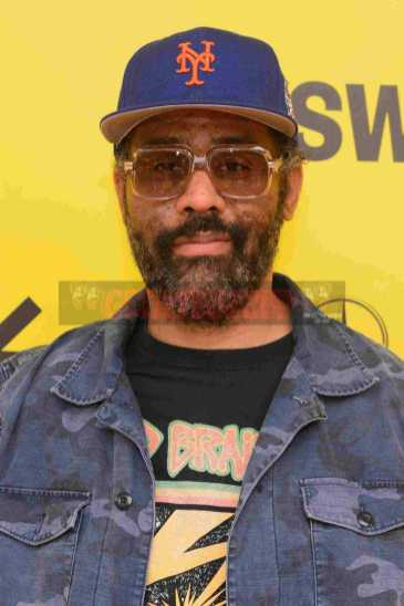 """AUSTIN, TX - MARCH 17: Director Sacha Jenkins attends the red carpet premiere of """"Rapture"""" during SXSW 2018 at Paramount Theatre on March 17, 2018 in Austin, Texas. (Photo by Daniel Boczarski/Getty Images for Netflix) *** Local Caption *** Sacha Jenkins"""