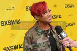 """AUSTIN, TX - MARCH 17: Rapsody attends the red carpet premiere of """"Rapture"""" during SXSW 2018 at Paramount Theatre on March 17, 2018 in Austin, Texas. (Photo by Daniel Boczarski/Getty Images for Netflix) *** Local Caption *** Rapsody"""