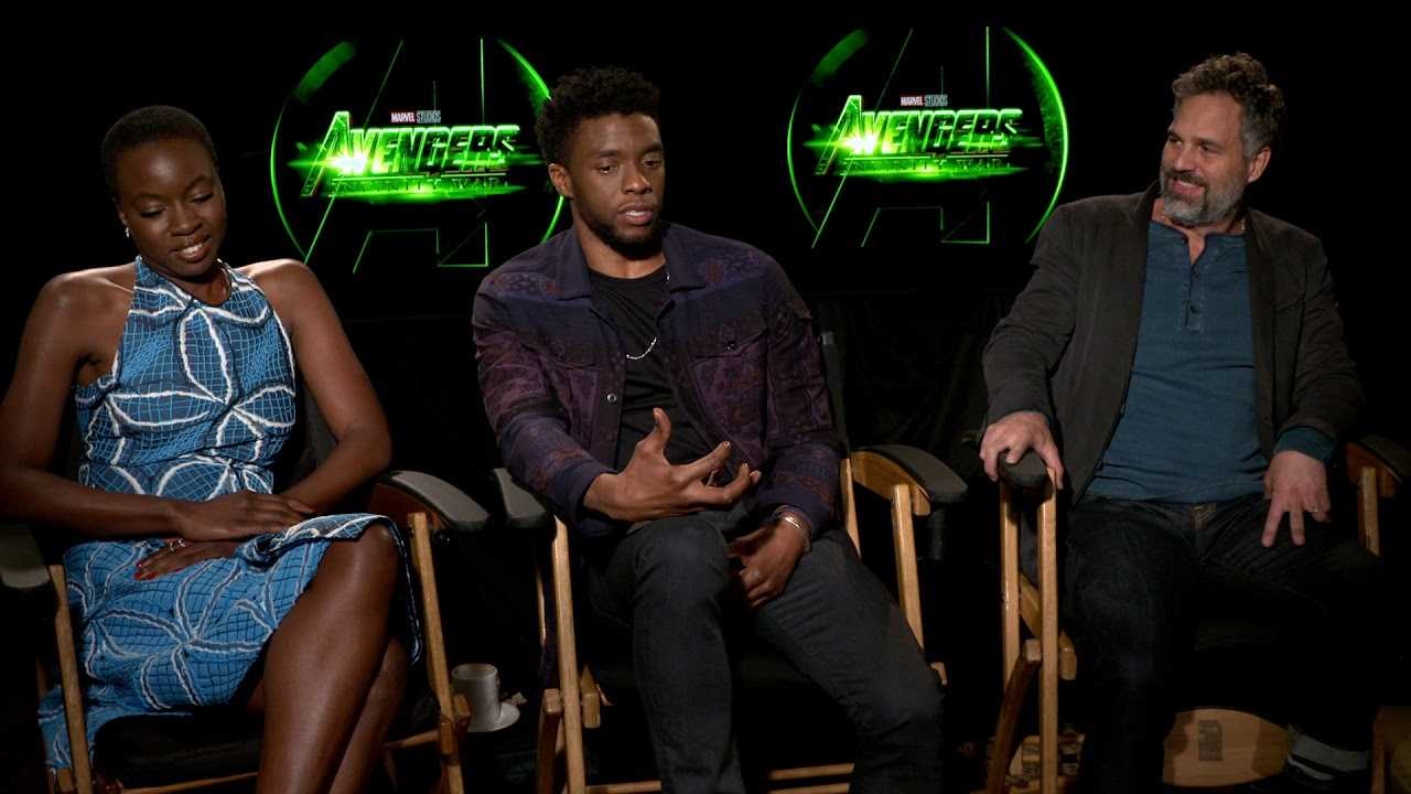 AVENGERS Cast talks Black Panther and the Marvel Universe