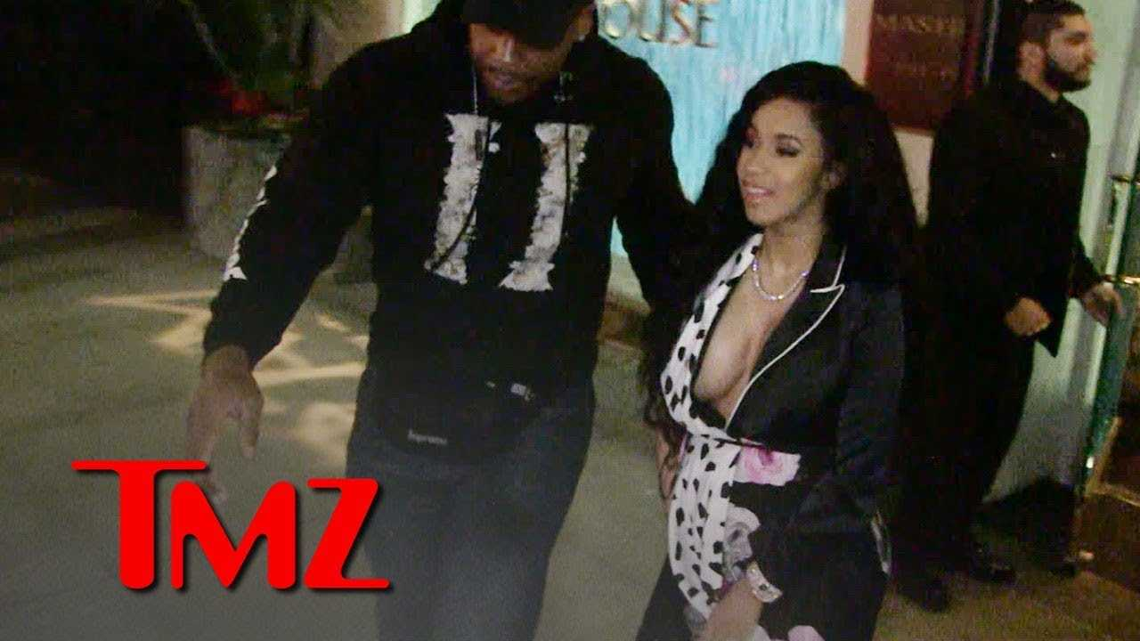 Cardi B Won't Say Whether She Gave Jay-Z Permission to Touch Baby Bump | TMZ
