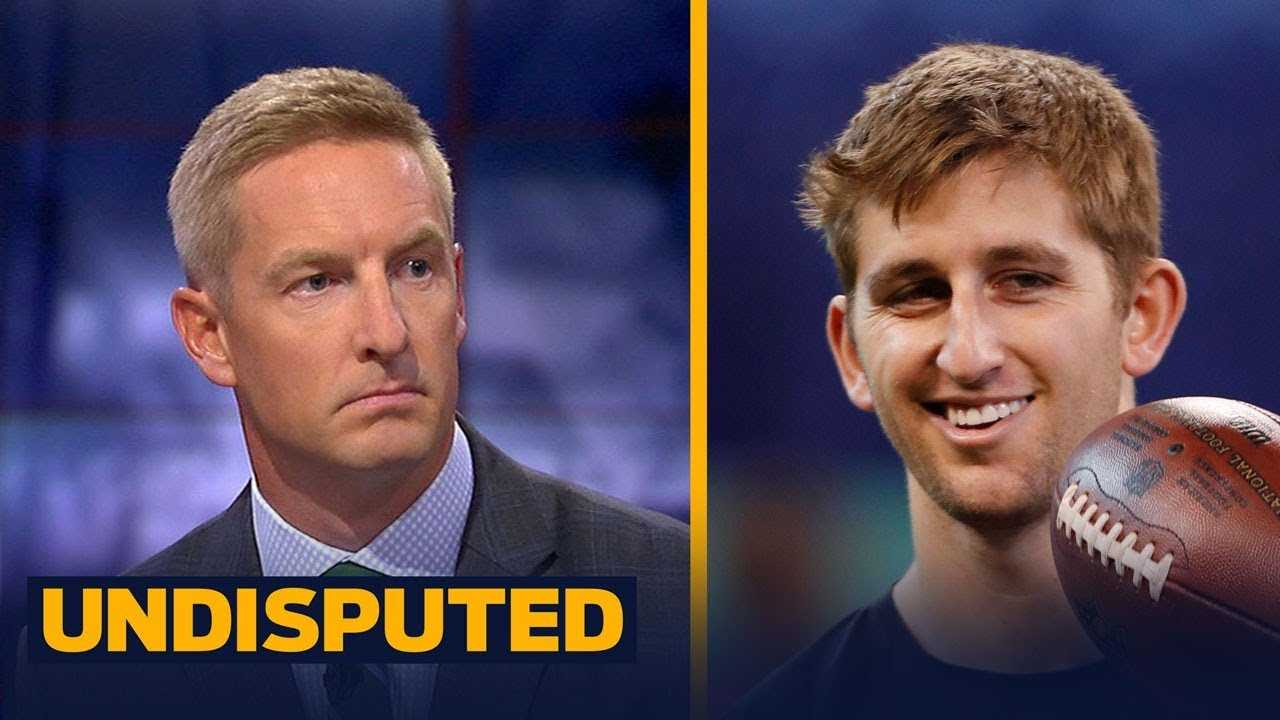 Did Josh Rosen hurt his draft stock by saying he's coming for Brady's throne? | UNDISPUTED