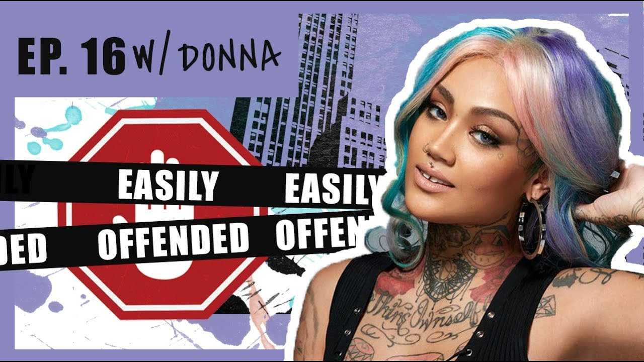 Easily Offended - Ep. 16 Donna from Black Ink Crew talks: sex tape, being robbed & much more