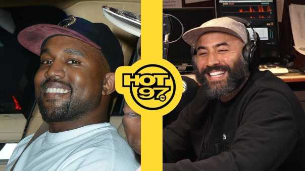 Kanye West Calls Into Ebro In The Morning; Tells Ebro 'I Love You'