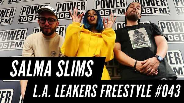 Salma Slims Freestyle w/ The L.A. Leakers – Freestyle #043