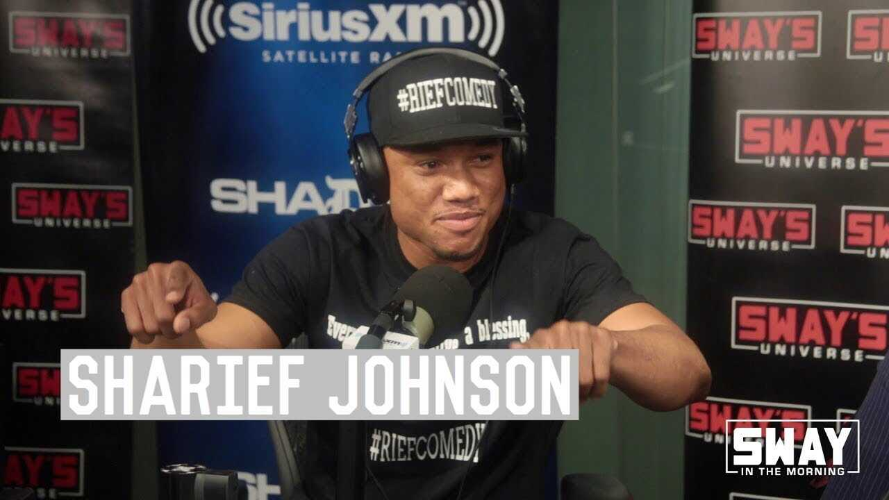 Sharief Johnson The Sway In The Morning Comedy Champ Stops By to Talk About New Moves