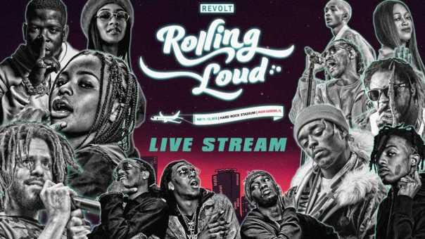 Rolling Loud Teams with REVOLT TV for the Official Festival Livestream