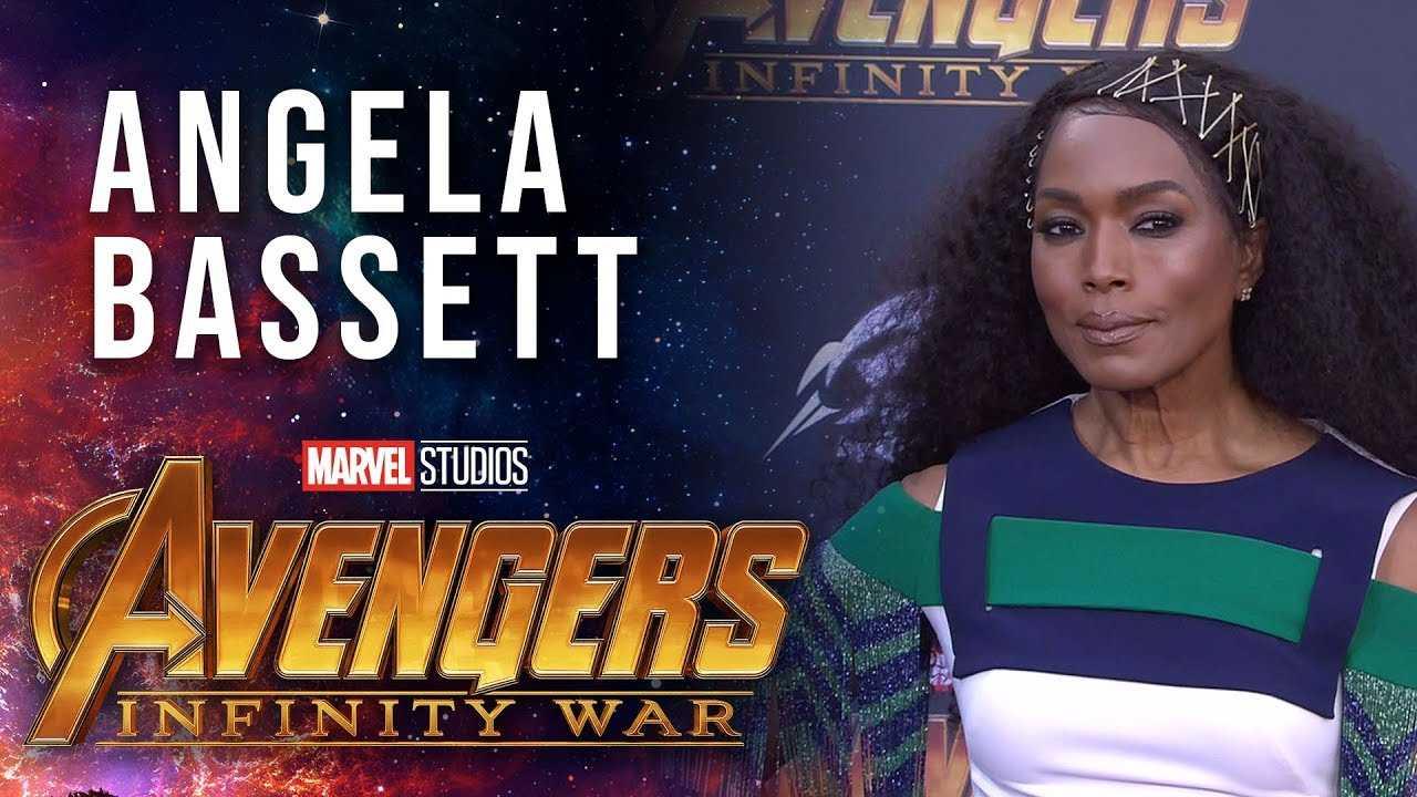 Angela Bassett Live at the Avengers: Infinity War Premiere
