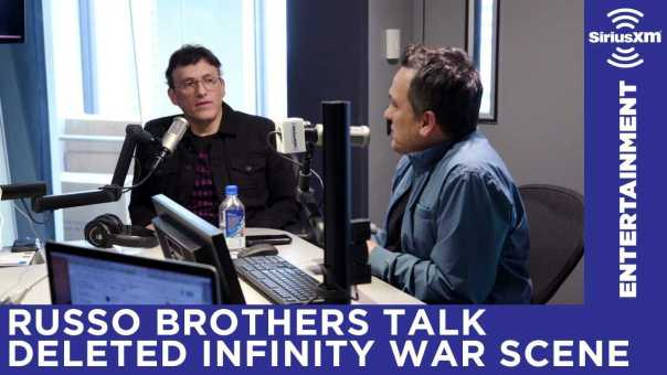 Avengers: Infinity War directors reveal their favorite deleted scene on Entertainment Weekly Radio