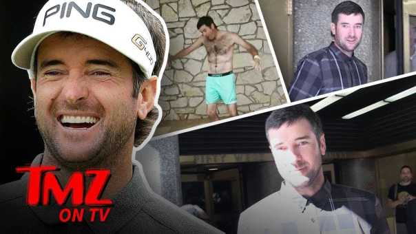 Bubba Watson Talks Weird Golf Moments | TMZ TV