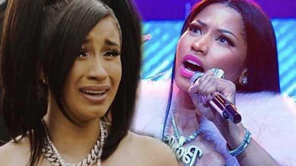 Cardi B caught lying about Nicki Minaj again … Nicki fans ain't playing