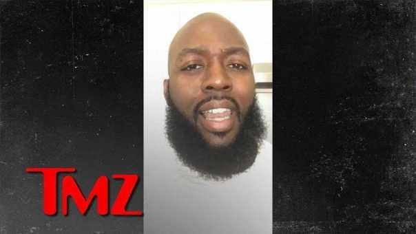 Childish Gambino Video Actor Confused for Trayvon Martin's Dad   TMZ