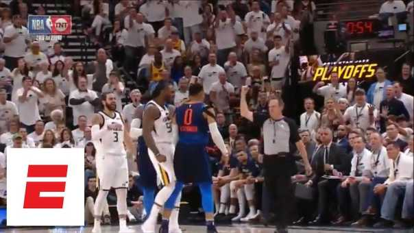 Jae Crowder ejected after getting into it with Russell Westbrook and Carmelo Anthony | ESPN