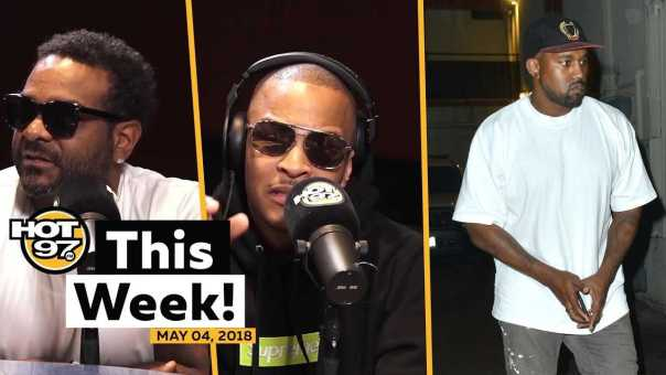 Jim Jones on boxing 50 Cent, T.I. explains Kanye & Chika Freestyles on HOT 97 This Week!