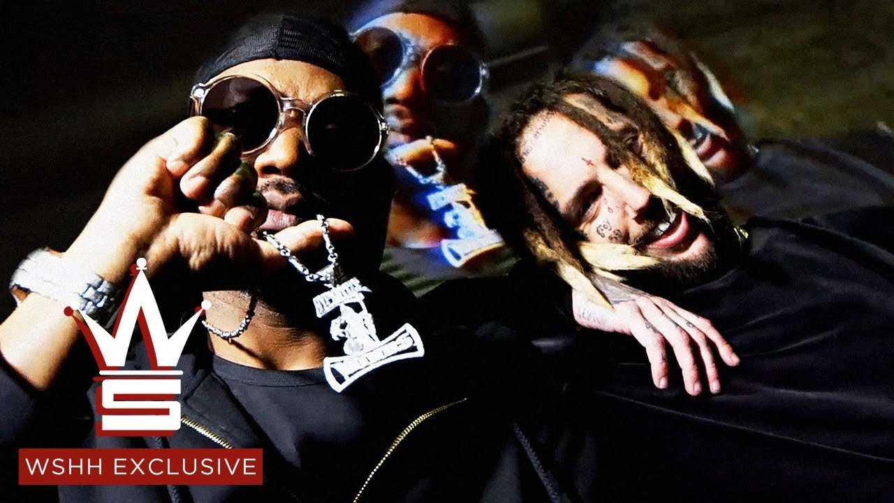 """Juicy J """"Choke Hold"""" (Prod. by $uicideboy$) (WSHH Exclusive - Official Music Video)"""