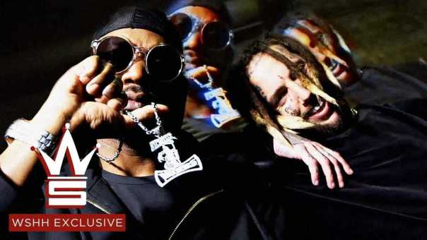 """Juicy J """"Choke Hold"""" (Prod. by $uicideboy$) (WSHH Exclusive – Official Music Video)"""