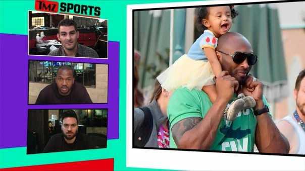 Kobe Bryant's Arms Look Super Jacked at Disneyland | TMZ Sports