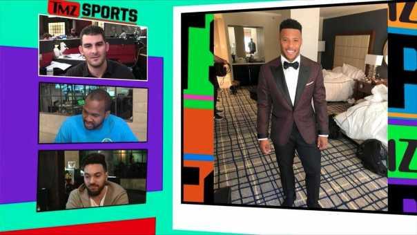 NFL Prospects Make Fashion Statements On Way to Draft | TMZ Sports