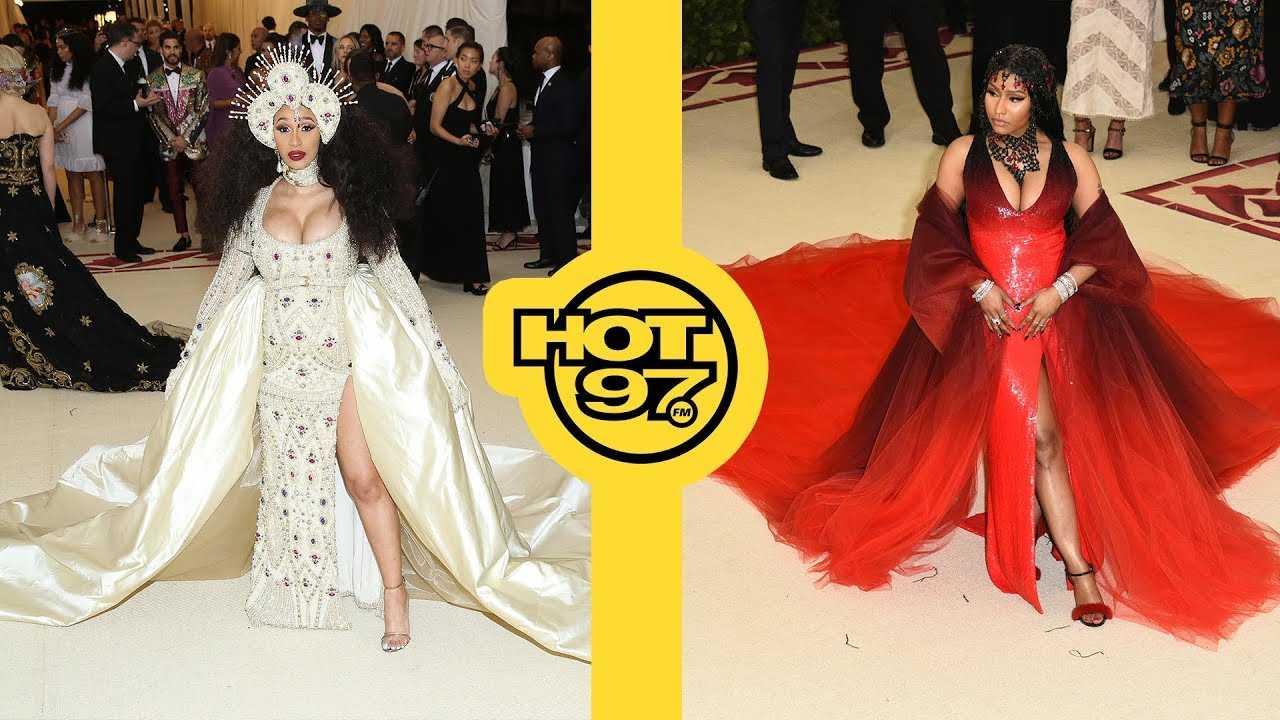 Nicki Minaj & Cardi B FINALLY Meet Face To Face + Janet Jackson's BIG Moment