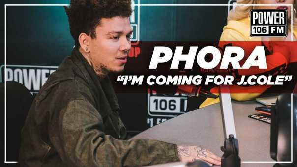 """Phora """"I'm Coming For J. Cole"""""""