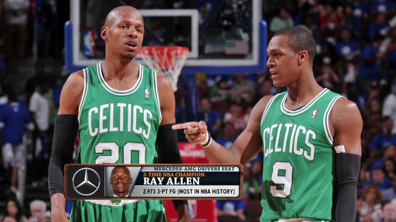 """Ray Allen on Celts Feud: """"I Don't Have Any Hatred Toward Them""""   The Dan Patrick Show  5/2/18"""