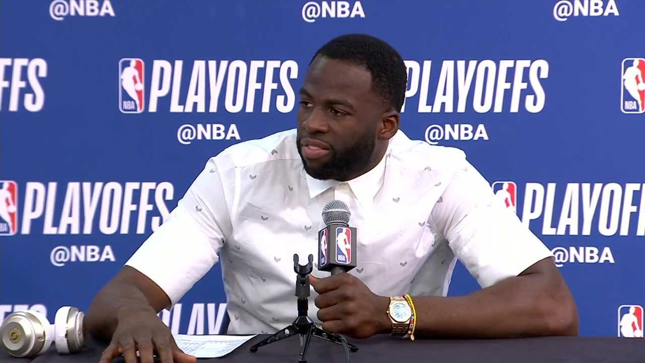 Stephen Curry & Draymond Green Postgame Interview   Warriors vs Pelicans Game 4