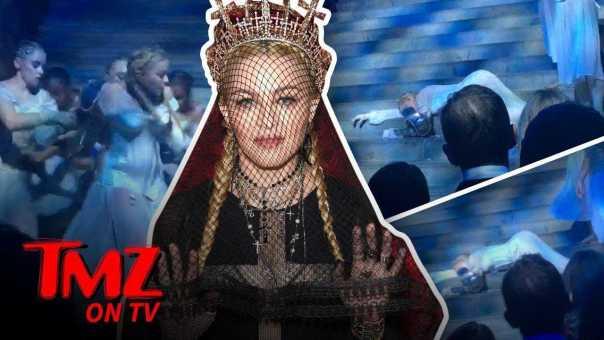 Tiffanny Haddish Heckles Madonna!   TMZ TV