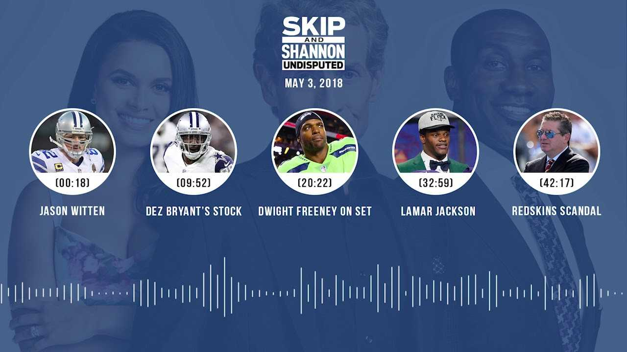 UNDISPUTED Audio Podcast (5.03.18) with Skip Bayless, Shannon Sharpe, Joy Taylor | UNDISPUTED