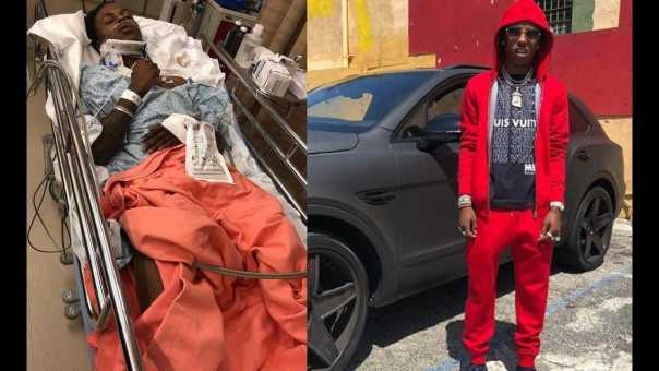 Rich the Kid gets hospitalized after gunmen Pistol Whip him and Rob him at Gunpoint at his GF Crib!