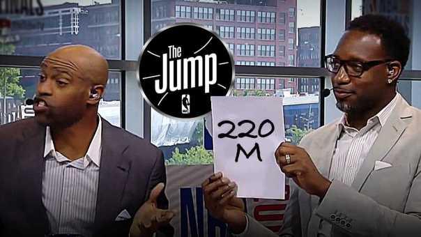 T-Mac & Carter Think Kawhi Leonard Can't Turn Down Spurs' 9M Super Max Deal | The Jump
