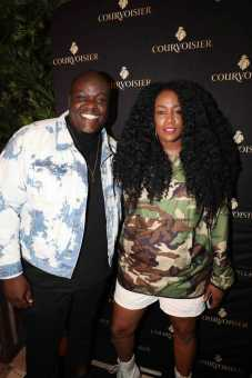 Courvoisier Honors Influencers Eddie Valcin and Octavia Yearwood in Miami [Photos]