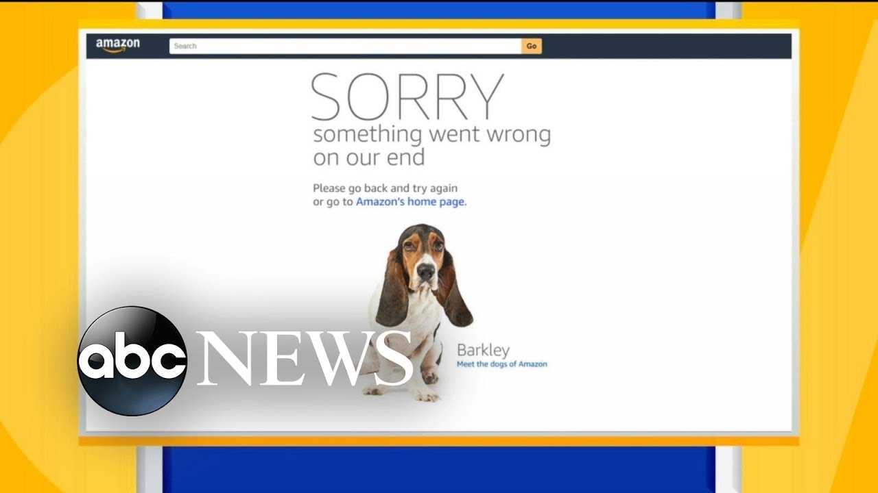 Amazon website crashes at start of Prime Day