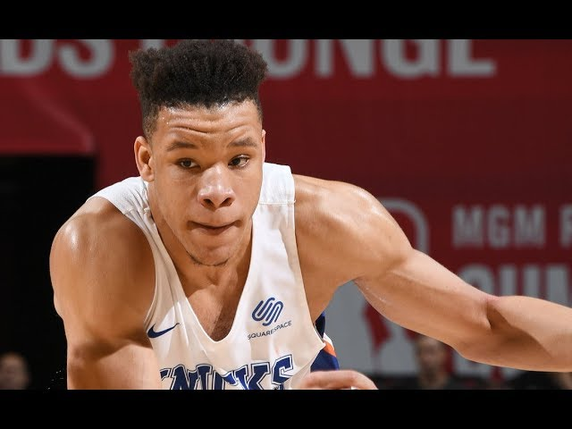 Best Of Kevin Knox From The 2018 MGM Resorts Summer League Prelims
