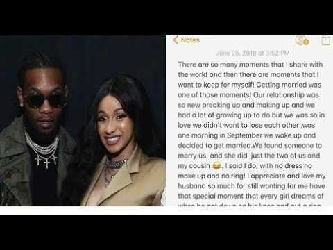 Cardi B Gets Backlash For Marrying Offset After He Cheated + Reacts To Her BET Awards