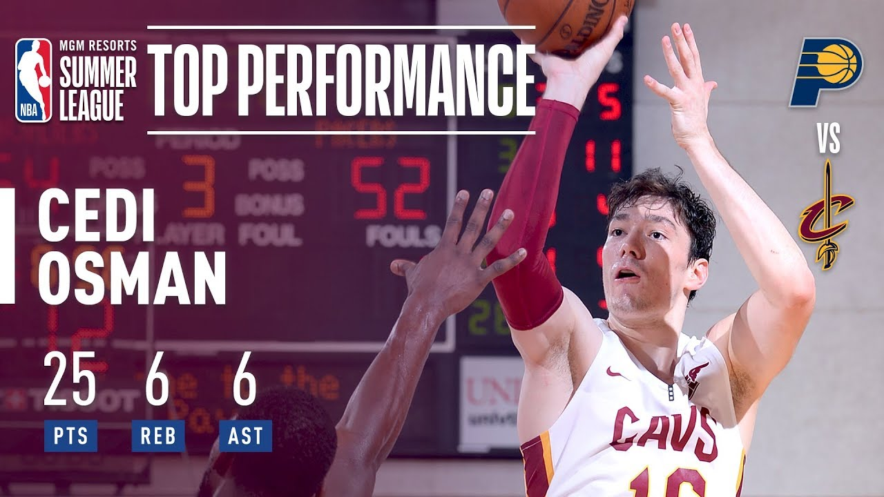 Cedi Osman With The All Around Game In MGM Resorts Summer League Action!