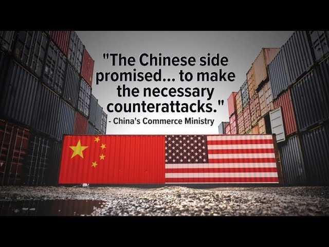 China vows to retaliate against U.S. tariffs in trade dispute escalation
