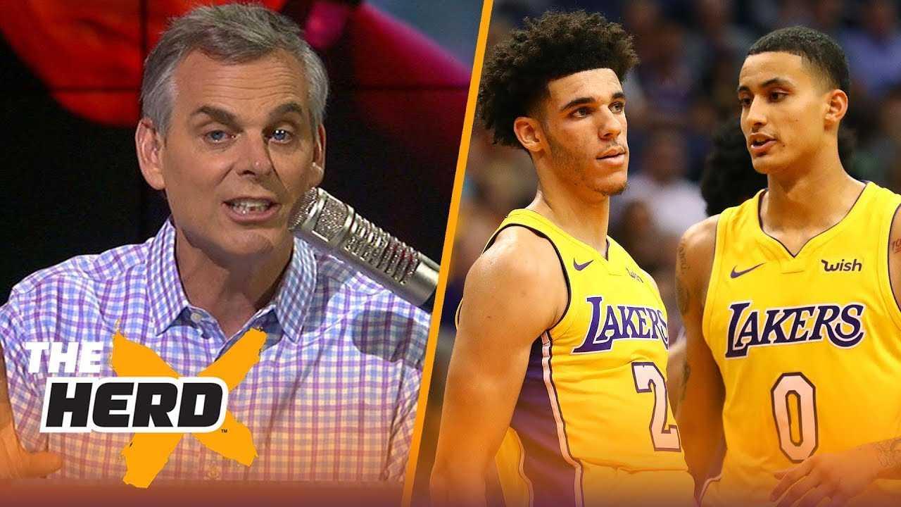 Colin Cowherd on Lonzo - Kuzma deterring LeBron, Fultz burying Philly's dynasty | NBA | THE HERD