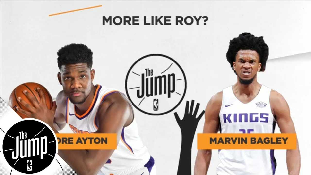 Deandre Ayton or Marvin Bagley III: Who's the more likely Rookie of the Year? | The Jump | ESPN