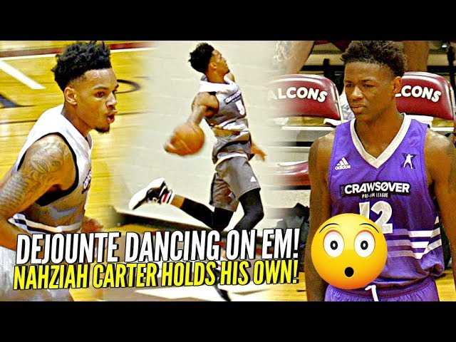 Dejounte Murray DANCING on The Defense at Seattle's Crawsover! Jay-z's Nephew vs 4 NBA Pros!
