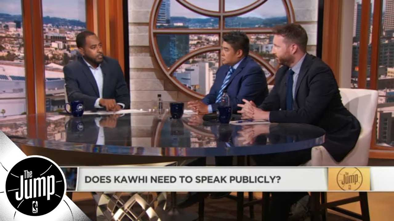 Does Kawhi Leonard need to speak publicly? | The Jump | ESPN