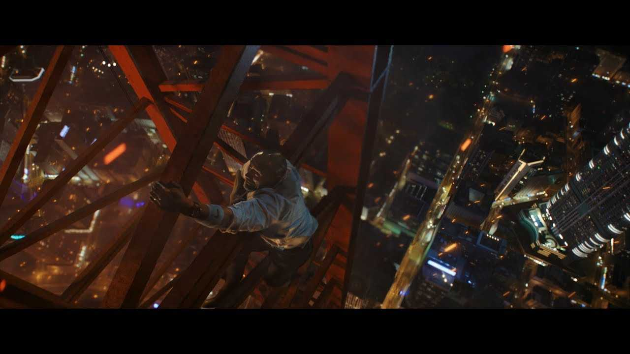 Dwayne Johnson takes action to the limit in #SkyscraperMovie