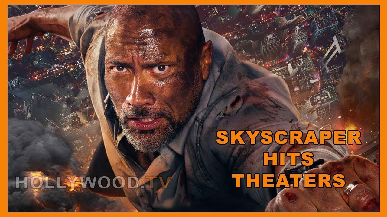 Dwayne Johnson talks Skyscraper - Hollywood TV