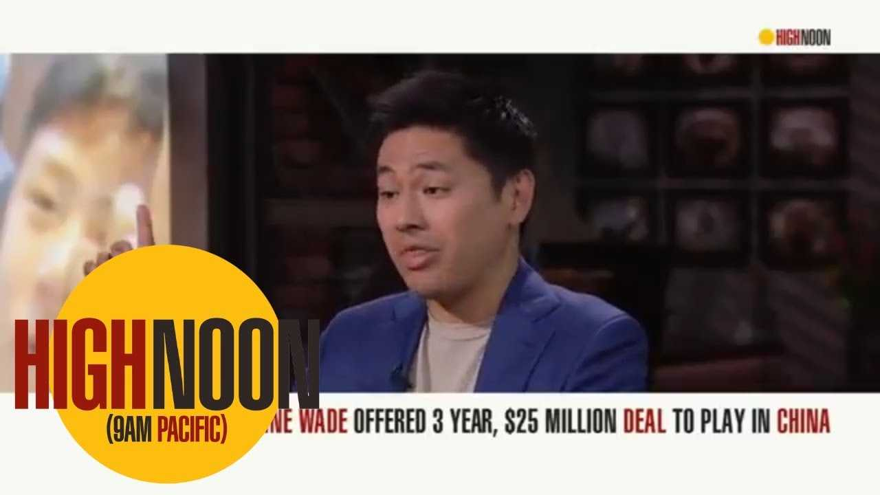 Dwyane Wade offered lucrative deal to play in China | High Noon | ESPN