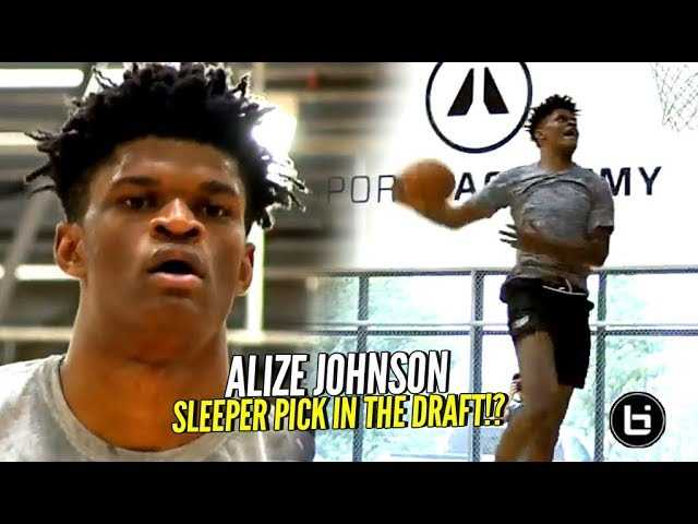 He Could Be A STEAL In The NBA Draft!! Alize Johnson Pre-Draft Workout!! HIGH MOTOR ATHLETE!