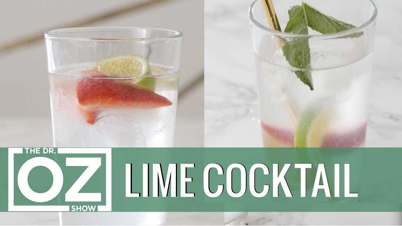 How to Make a Lime Cocktail