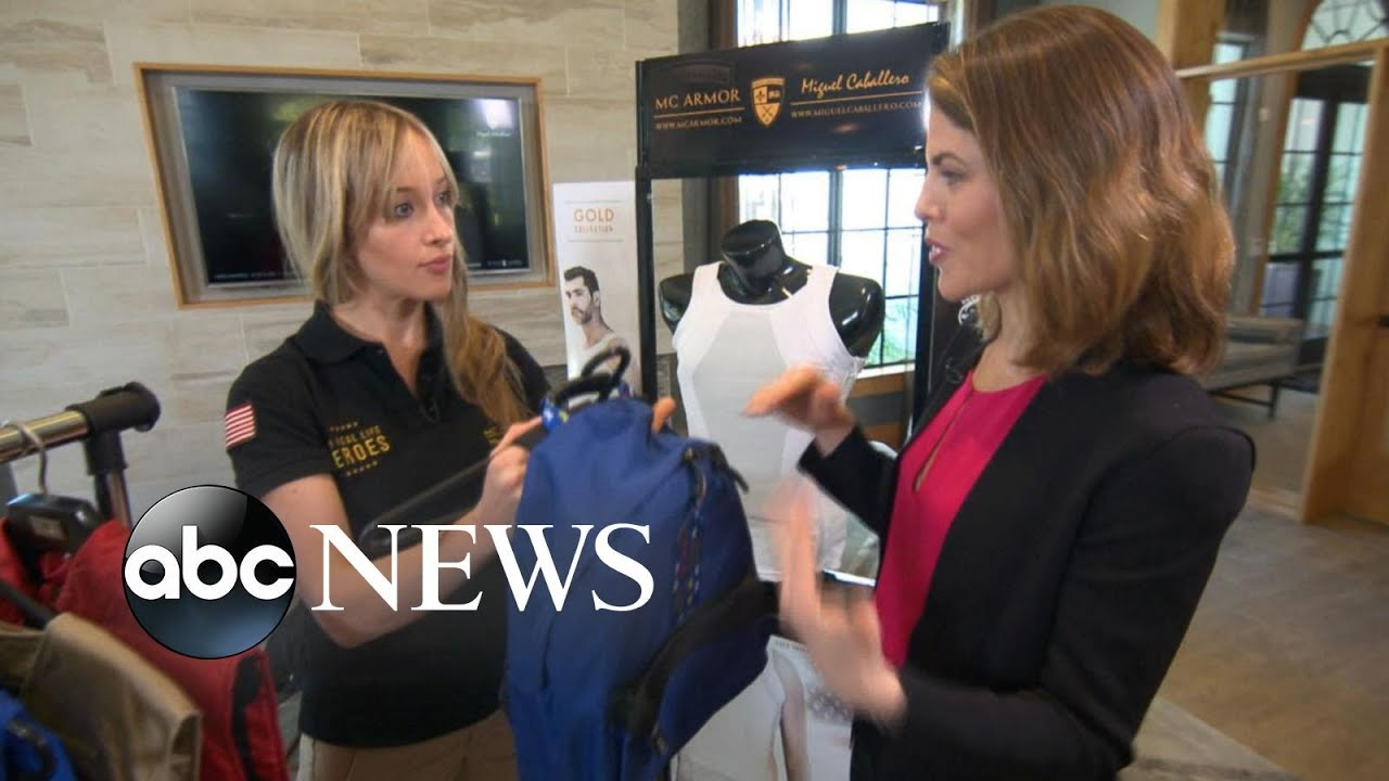 'It's fashion with protection': Bulletproof wear demand is rising, say designers