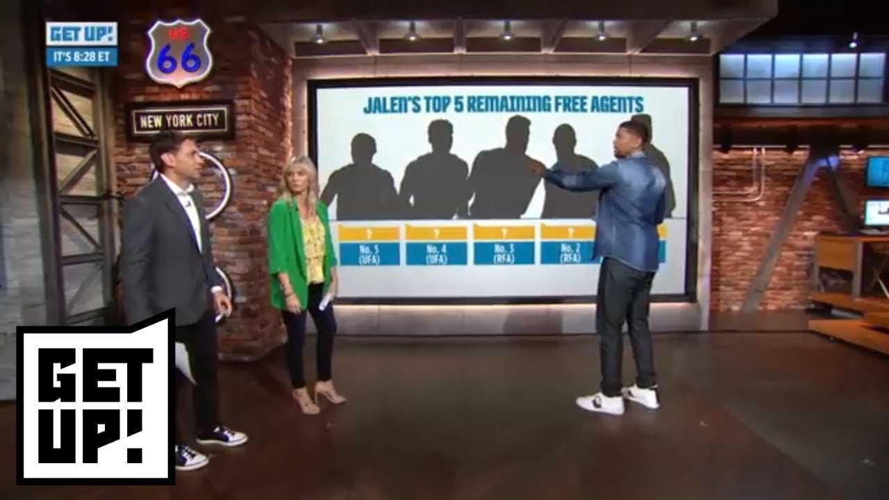 Jalen Rose has Clint Capela, Marcus Smart among top 5 NBA remaining free agents | Get Up! | ESPN