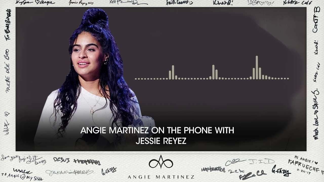 Jessie Reyez Calls In To Congratulate Angie Martinez On RHOF Nomination