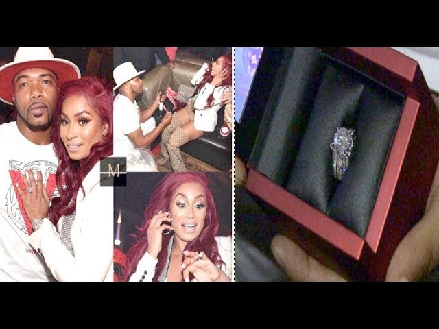 #LHHATL Star Karlie Redd Gets Engaged To Her New Boo!